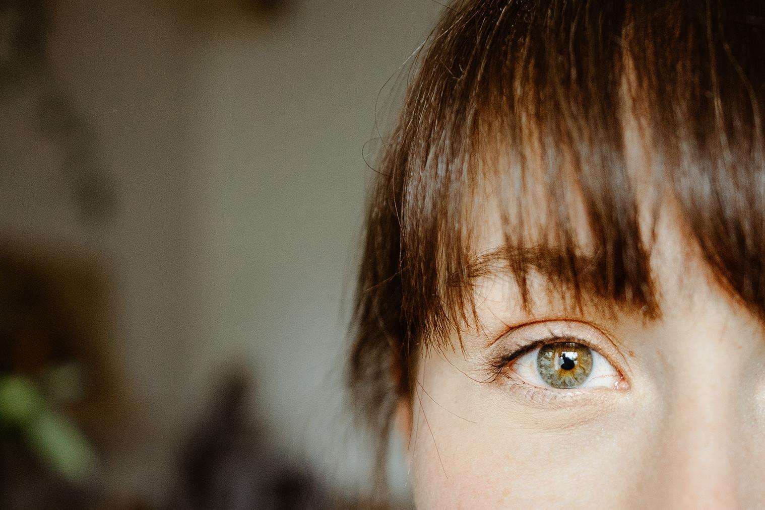 Zoom oeil Portrait Floriane LEBLONG