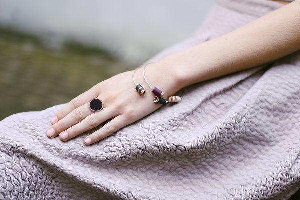 Bague LISON et bracelets ONDEE
