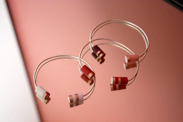 Bracelet jonc ONDEE couleurs estivales
